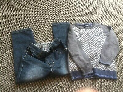 Boys Next Jumper And George Jeans Age 4