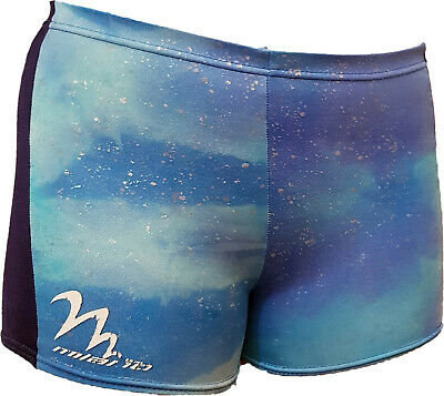 Girls MILANO blue gymnastic,sports shorts, size 32