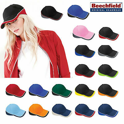 Beechfield Teamwear Competition Cap Caps & Hats Etc All Sizes and Colours