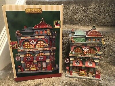 LEMAX Christmas Lighted Building Chapman's Toys - Boxed -