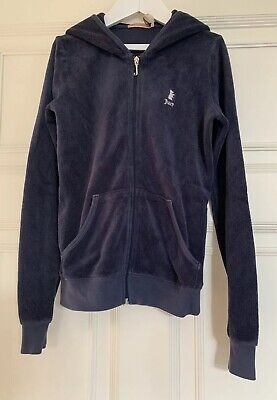Juicy Couture Girls Towelling Tracksuit Top  Age 12