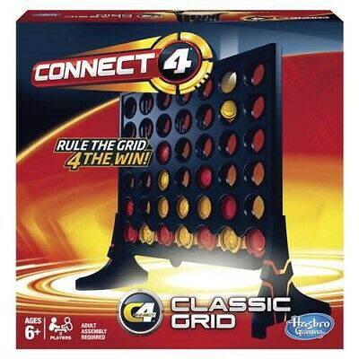 CONNECT 4 - RULE THE GRID 4 THE WIN by HASBRO - 2012