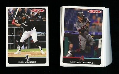2019 Topps Total Wave 4 Limited Print Pick Your Card #301-400