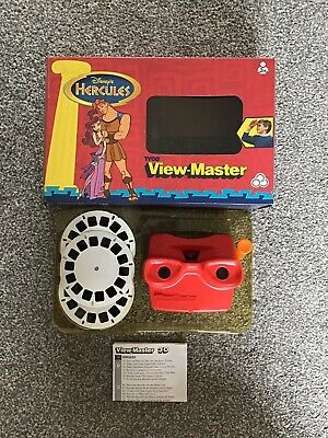Vintage 1997 Disney Hercules View Master Tyco Boxed Rare