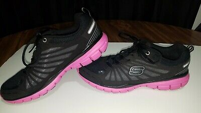 SKECHERS WOMENS TONE Ups Fitness Running Athletic Shoes Size