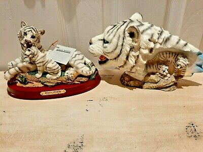 Classic Wildlife Collection 2 Pieces Tiger New Tigers Collectors Edition Set of2