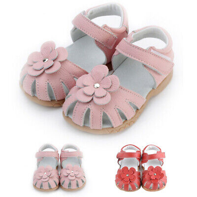 Toddler Baby Girls Casual Leather Summer Comfortable Breathable Sandals Shoes