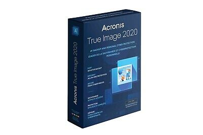 Acronis True Image 2020 Backup Software Lifetime License