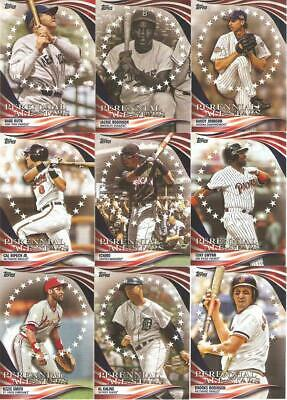 2019 Topps Update Perennial All-Stars Retail Inserts ***You Pick***