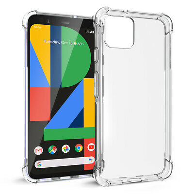 Google Pixel 4 / Pixel 4 XL Case Soft Crystal Clear Silicone Shockproof Cover