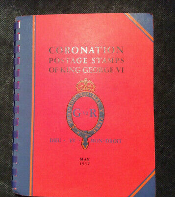 British Empire 1937 Complete Coronation issue in Special Album, VF Mint Hinged*