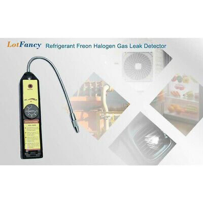 Portable Tester Air Condition Sniffer Refrigerant Halogen Gas Leak Sensor Tool