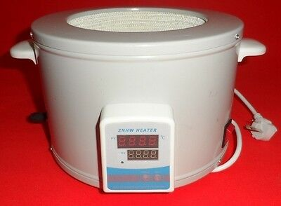 2000ml Heating Mantle Thermostatic with Digital Display 380℃ 2 L 36