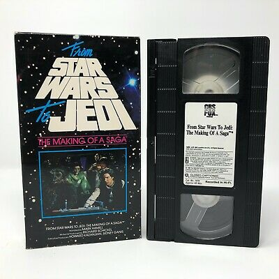 From Star Wars to Jedi - The Making of a Saga VHS 1989