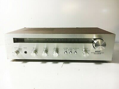 Akai AM/FM Stereo Receiver AA-1010 Amp Amplifier Tuner Phono Input