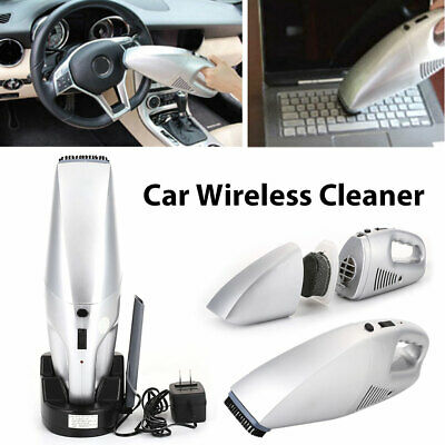 Universal 3.6V Car Cordless Cleaner Rechargeable Handheld Vacuum Home 220V 60W