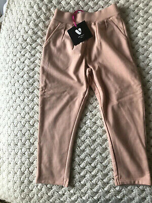 V By Very Girls Pink Jogging Bottoms And Denim Trousers - Age 3-4 Years NWT