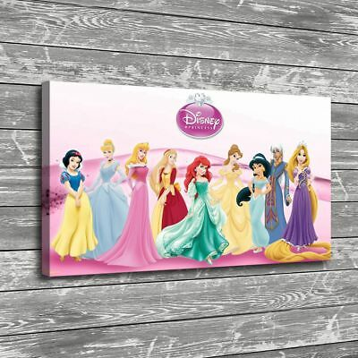 """16""""x26""""Disney HD Canvas print Painting Home Decor Picture Room Wall art Poster"""