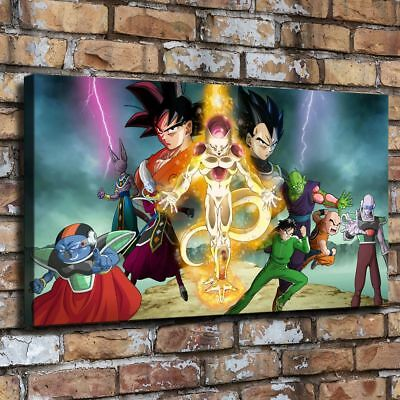 """16""""x28""""Dragon Ball HD Canvas prints Painting Home Decor Picture Room Wall art"""