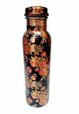 Pure Copper Bottle for Water 950.ml Liter Dirt Proof Leak Proof Free Shipping