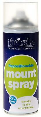 NEW Repositionable Mount Spray 400ml Can This Mount Spray Is Suited For PREMIUM