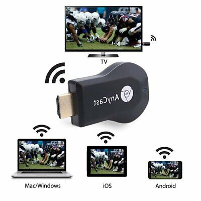 M2 Pie Wireless Wifi Display ricevitore Dongle 1080P HDMI AnyCast per Android TV