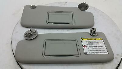 Chevrolet Spark Pair Grey Left & RIght Front Sun Visors With The Clips