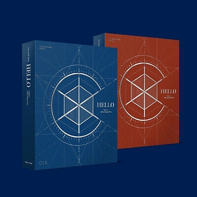 CIX HELLO CHAPTER 2. [HELLO, STRANGE PLACE] Album 2 Ver SET+POSTER+Book+Card+etc