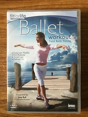 Ballet Workout - Total Body Toning - Joey Bull (DVD, 2008) Brand New Sealed