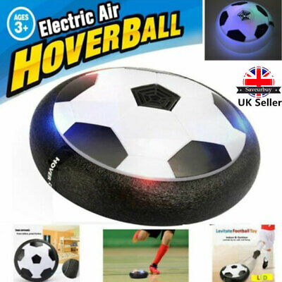 Air Power Soccer Disk With Led Ball Light Up Air Football Hover Disc Great Gift