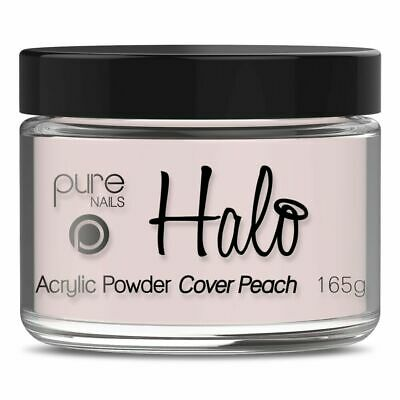 Halo By Pure Nails Acrylic Powder COVER Peach - Large 165g Pot