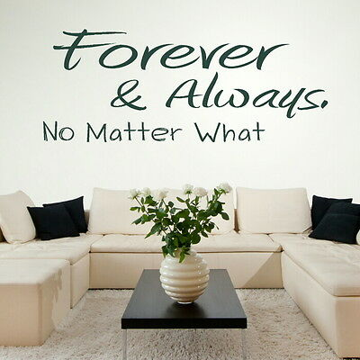 Give Me Your Forever Romantic Wall Quote Art Vinyl Love Quote Transfer niq15