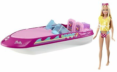 Mattel Barbie Glam Boat W/ Canopy and 1 Doll Seats 4