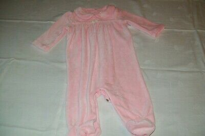 Baby girls clothes Ralph Lauren velour babygrow 3m - combined postage available
