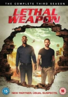 Lethal Weapon: The Complete Third Season =Region 2 DVD,sealed=
