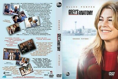 Grey's Anatomy Stagione 15 In Italiano Cofanetto Serie Tv Completa
