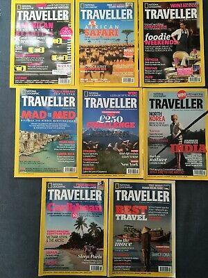 National Grographic Traveller Issues 15-22