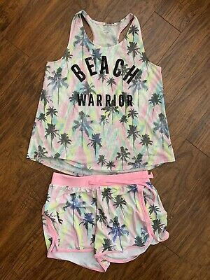 Justice Girls Beach Warrior Outfit Size 18/20