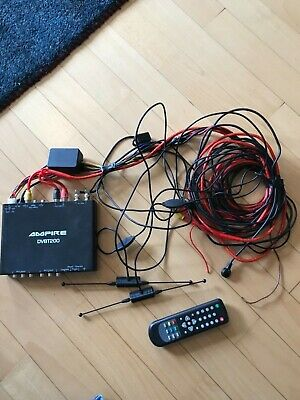AMPIRE DVBT200 MOST Tuner TV bis 200 km/h Fernbedienung 2 Antennen CAN DVD CAM