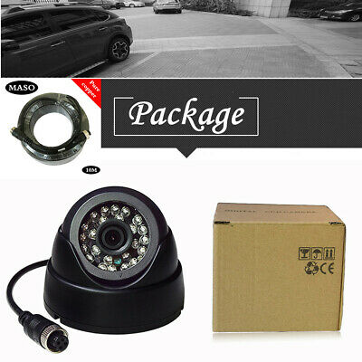 12-24V CAR Truck HD Front View Forward Camera for Lorry Bus Van Camper 10M Cable