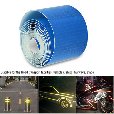 Car BikeS Reflective Tape Safety Stickers Safety Warning Self-Adhesive Reflector