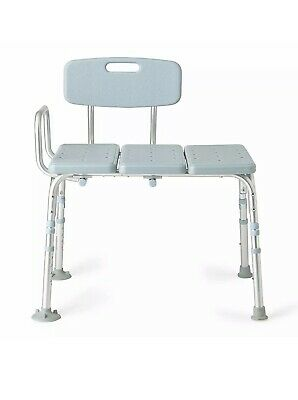 Medline Transfer Bench with Back - New other (Open Box)
