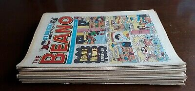 BEANO COMICS - 23 different issues from 1985