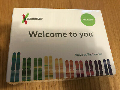 HEALTH & ANCESTRY 23andMe DNA Saliva Collection Kit - Lab Fee Inc.  EXP 09- 2020