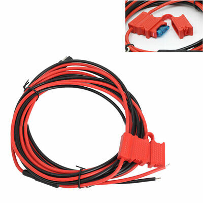 DC Power Cable for Motorola GM140 GM160 GM300 Mobile Radio as HKN4137A