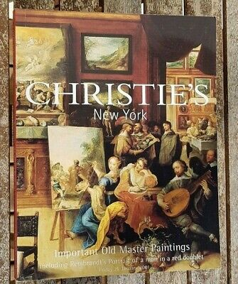 Christie's Auction catalogue Important Old Master Paintings New YorK 26 Jan 2001