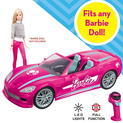 Barbie RC Dream Car Convertible Vehicle Remote Control NEW
