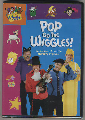 The Wiggles - Pop Go the Wiggles DVD - Brand New MINT Sealed!!! - Nursery Rhymes