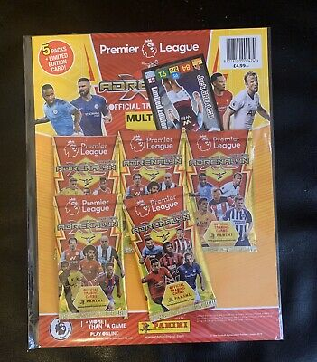 Panini Adrenalyn XL Premier League 2019/20 Trading Cards Multi pack
