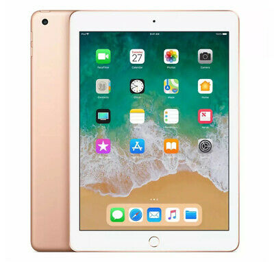 Apple iPad 6th Gen 32GB Wi-Fi  9.7in - Rose Gold - Grade A